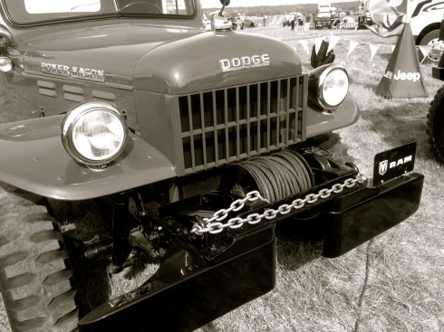 Power Wagon in B&W