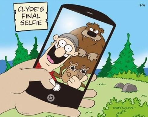 clydes final selfie