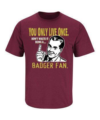 Don't be a Badger