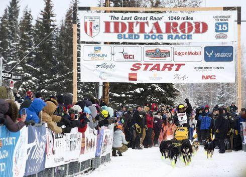 2015 Iditarod Start