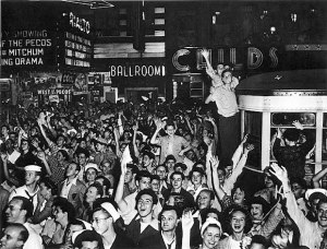 VE Day Times Square