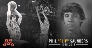 Flip Saunders - Golden Gopher Basketball