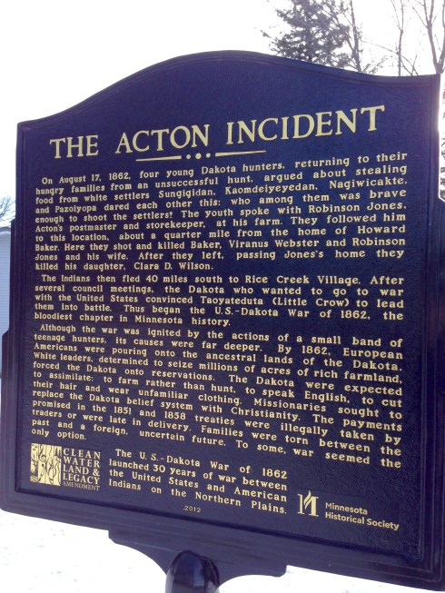 Acton Incident