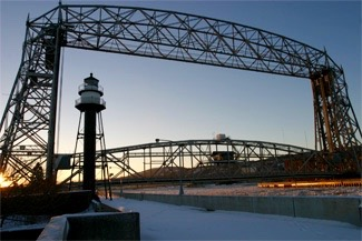 Duluth's Iconic Lift Bridge