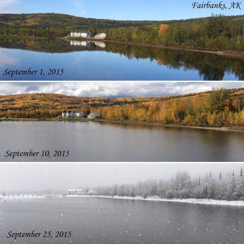 September in Fairbanks
