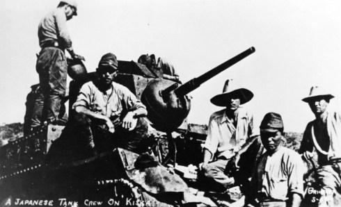 Japanese Tank Crew Kiska '42