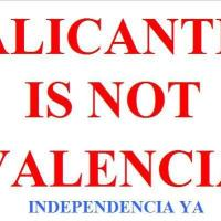 Alicante is not Valencia