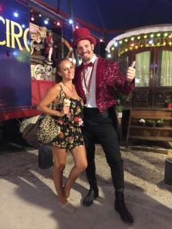 Sonia Monroy en el Circo Raluy