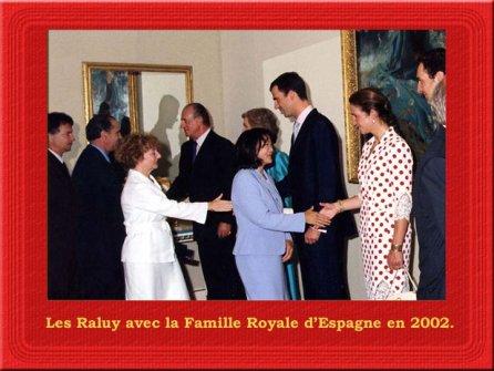 VIPS en el Circo Raluy. Con la Familia Real española