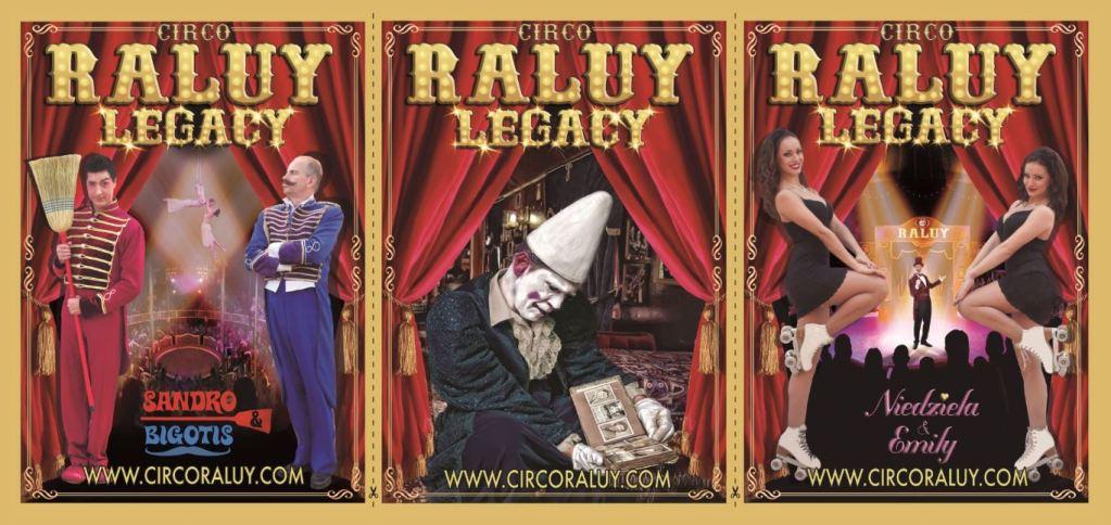 Los carteles del Circo Raluy