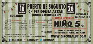 Circo Raluy Puerto de Sagunto 2017