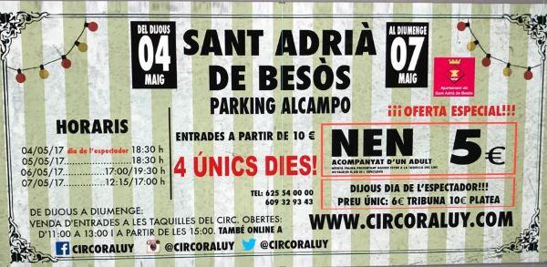 Circo Raluy Sant Adria del Besos