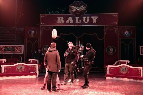 Programa Cites de TV3 en el Circo Raluy