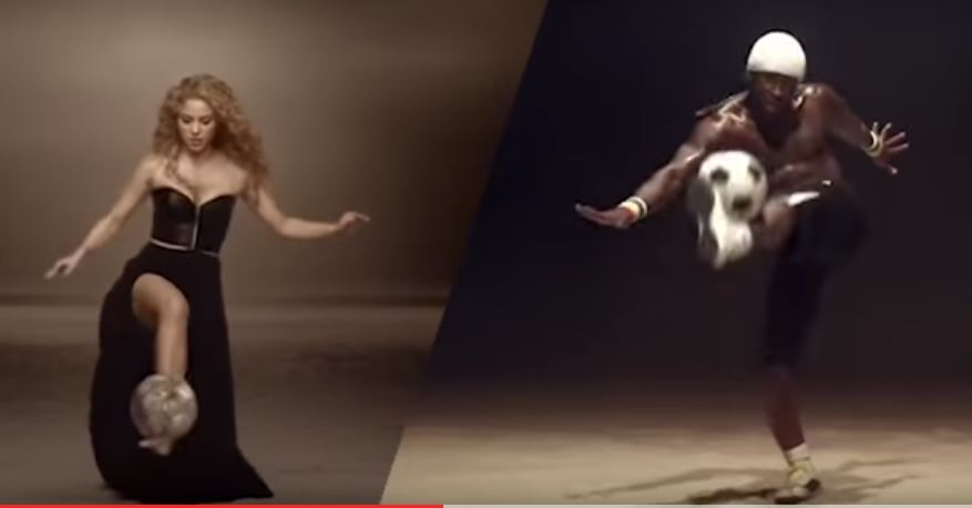 Iya Traoré con Shakira