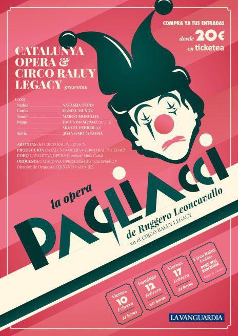 Circo Raluy Opera Pagliacci