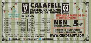 Circo Raluy en Calafell 2017