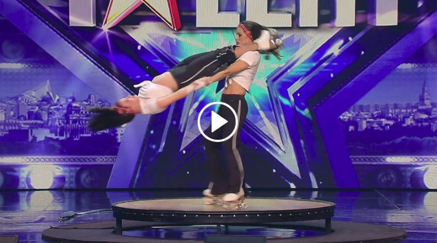 Niedziela y Emily Raluy en Got Talent 3