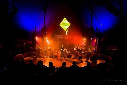 Eventos Profesionales. Concierto Le Cropier en la pista del circo