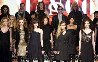 Eventos Profesionales. Gala de la firma de Moda Mango. Modelos de pasarela