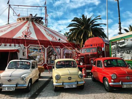 Evento Club SEAT 600 Barcelona en el Circo Raluy 01