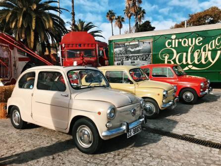 Evento Club SEAT 600 Barcelona en el Circo Raluy 06