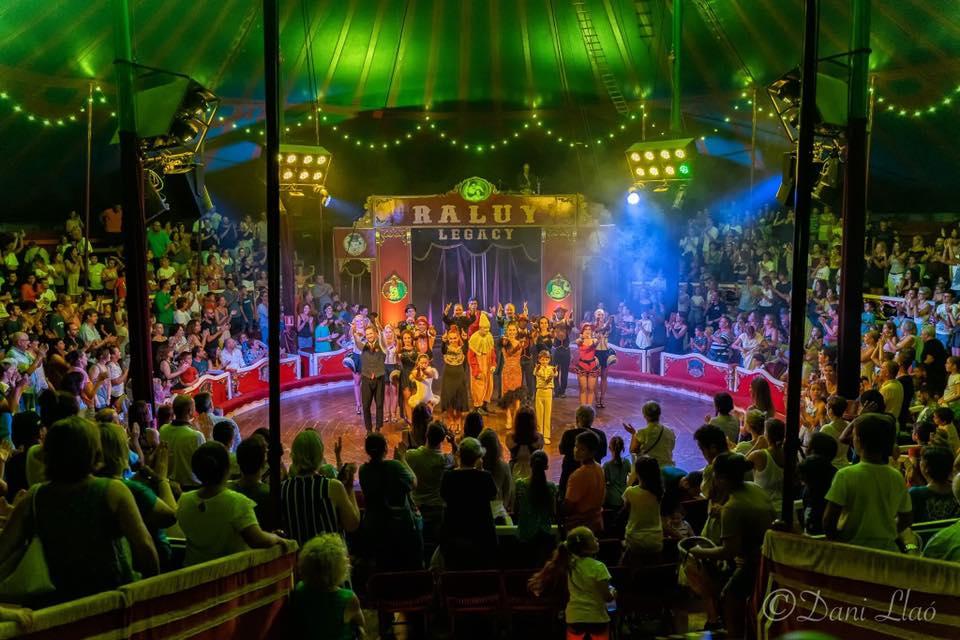 Espectáculo del Circo Raluy