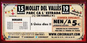 Circo Raluy en Mollet del Vallès 2019