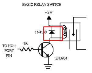 How to use relay with schematic of relay circuit diagram