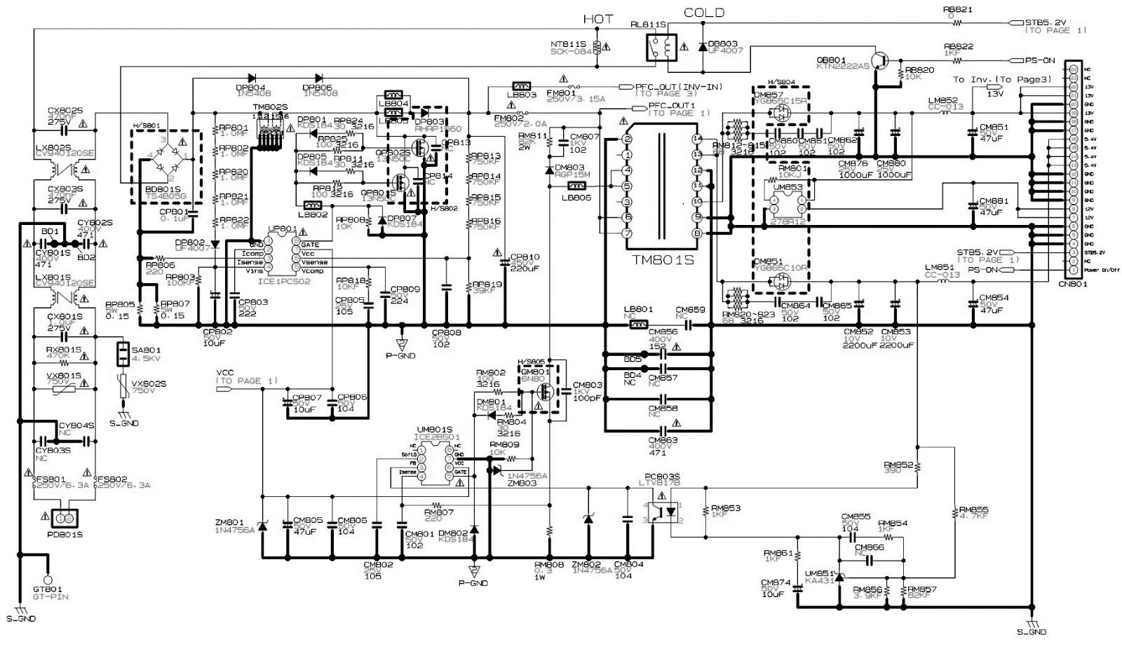 Samsung Plano 21 Inch Tv Circuit Diagram