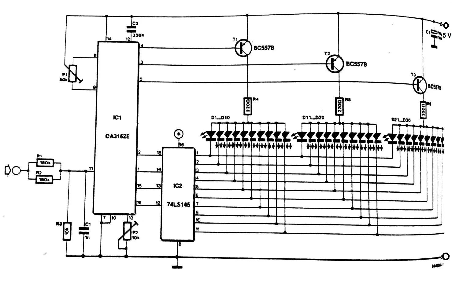 Digital Volt Meter Wiring