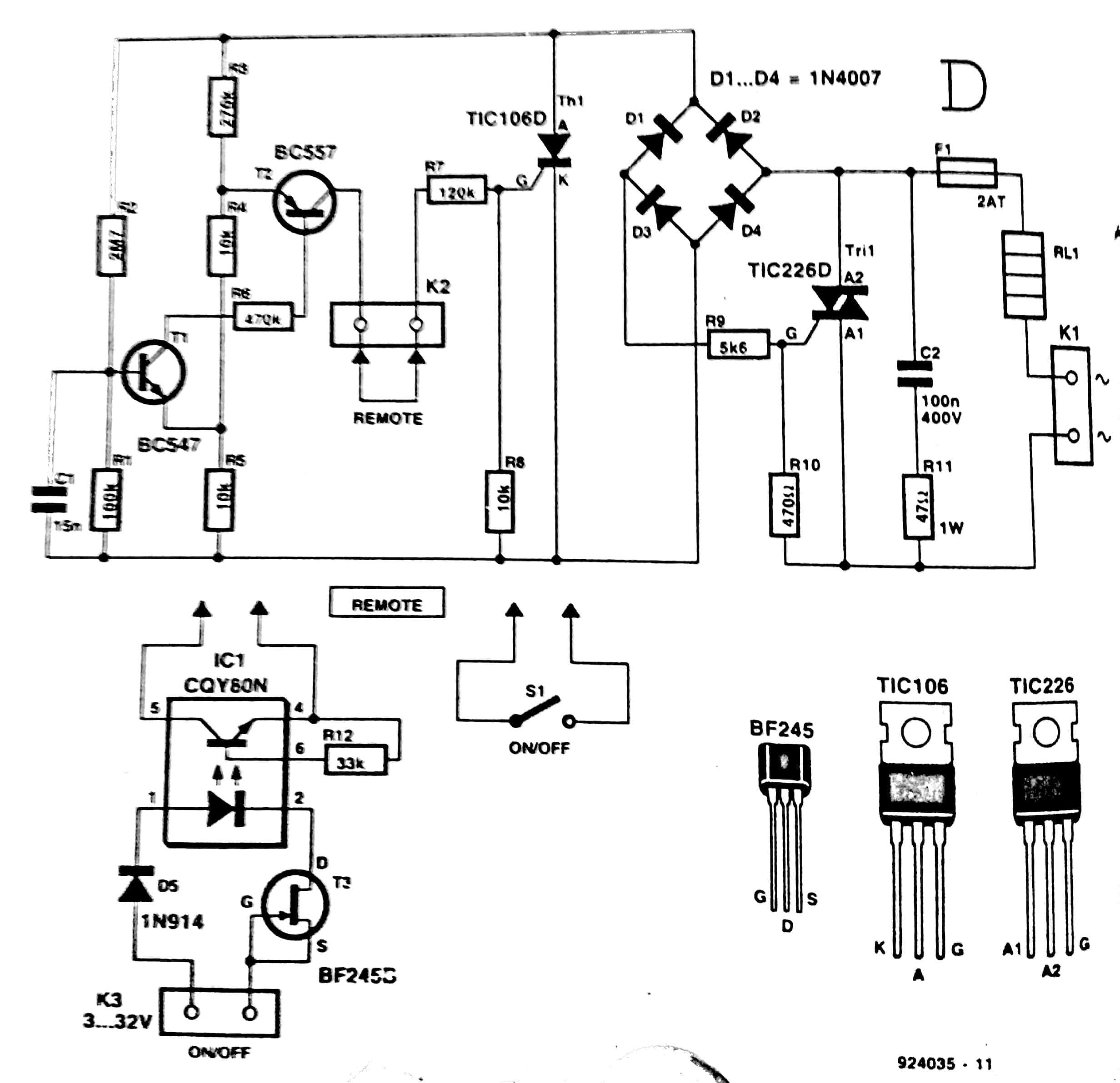 240 Volt Phase Diagram