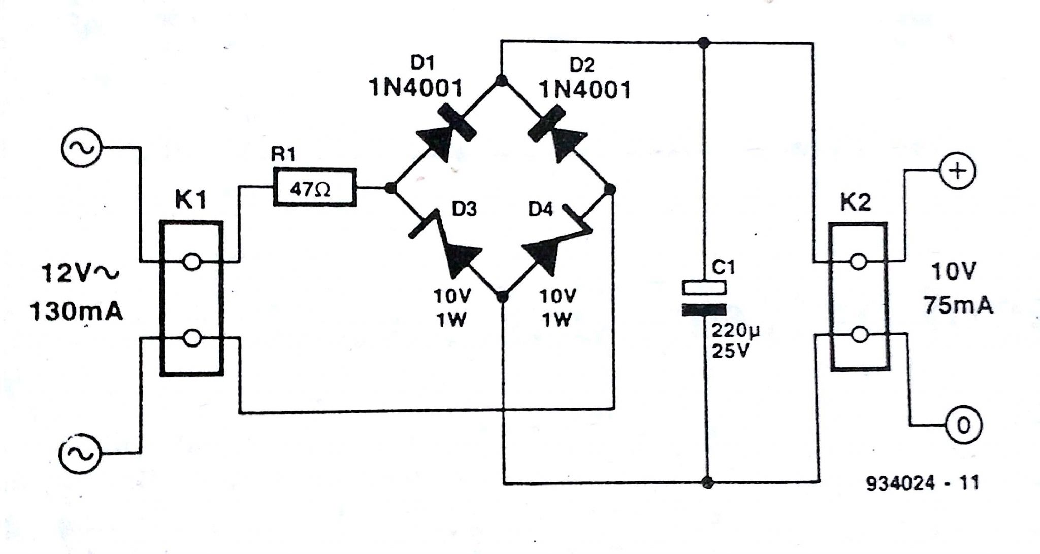 12v rectifier wiring diagram