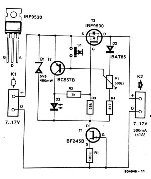 Electronic Fuse Circuit Diagram | CircuitDiagramz