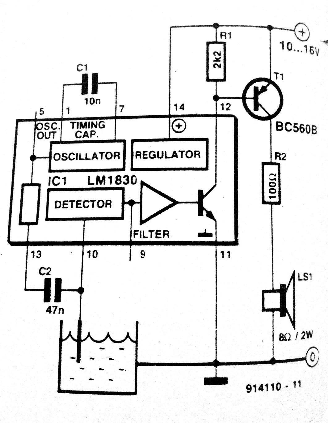Audible Level Indicator