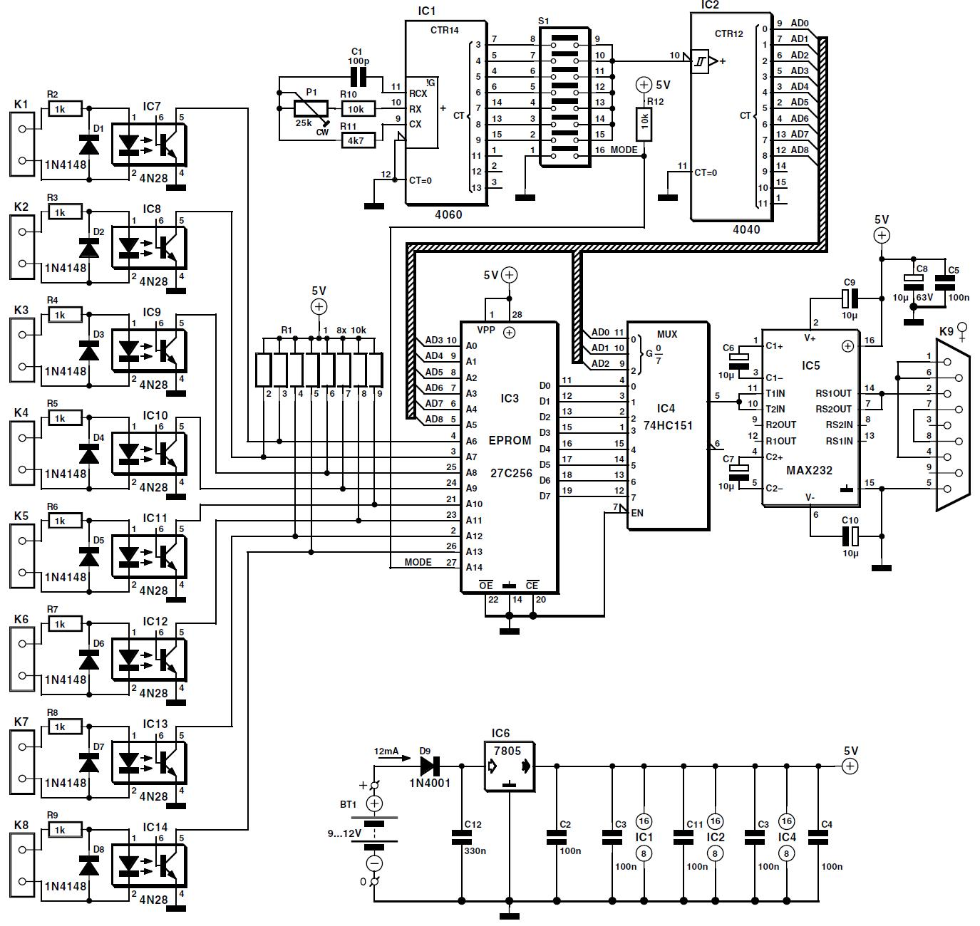 Circuit Breakers Schematic