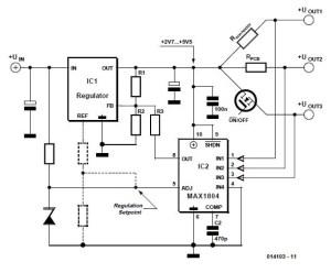 Ammeter Schematic Circuit Diagram