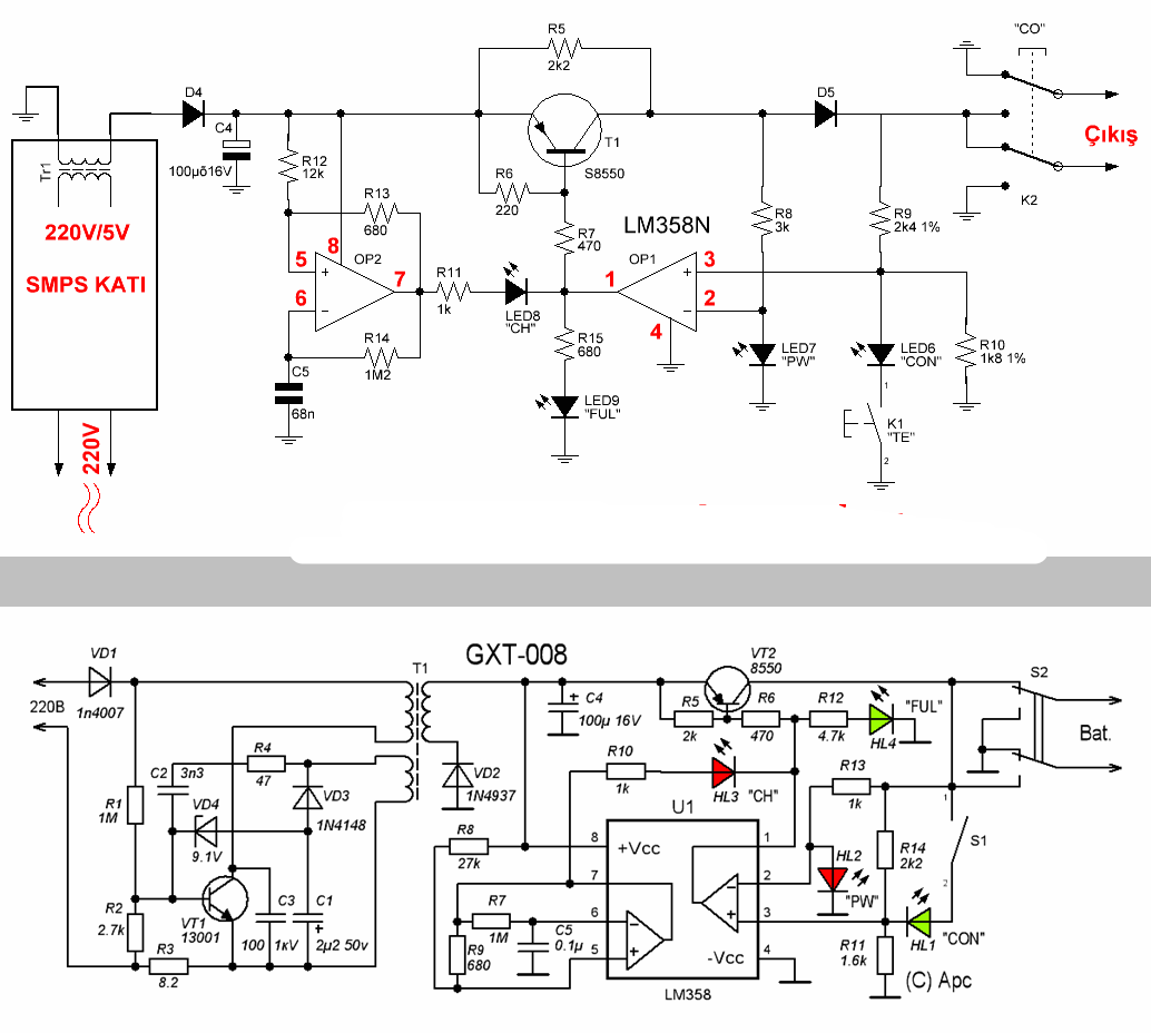 Chinese Made Universal Charger Schematic Circuit Diagram
