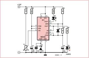 Voltage Monitor Schematic Circuit Diagram