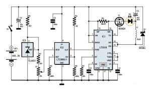 TP4056 MicroUSB Battery Charger Circuit Diagram