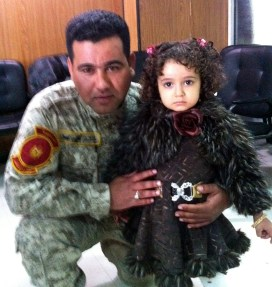 Soldier w daughter needing surgery