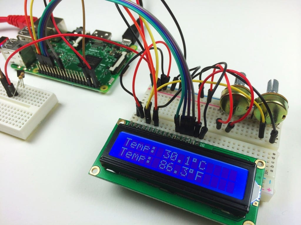 How To Setup An LCD On The Raspberry Pi And Program It