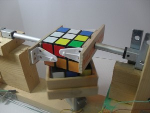 Cube Solver in Action