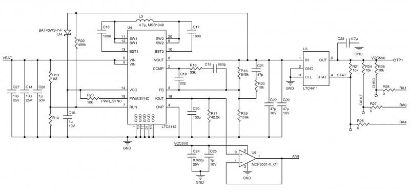 Figure 2: Power management board