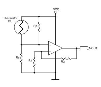 Figure 2 Thermistor linearization