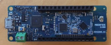 Figure 3 The Arduino MKR Fox board