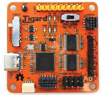 Figure 2 The Tigard is an example of an FTDI FT2232H-based JTAG interface.
