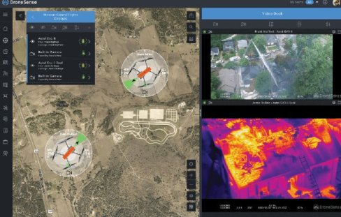 Figure 1 DroneSense has added support for the entire Autel EVO Series of drones in the DroneSense Platform. This integration provides customers the full suite of DroneSense capabilities when flying EVO drones, including flight control, automated flight logs, live video streaming and more.