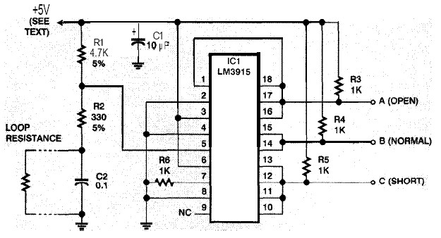 Safer Security System Alarm Circuit Electronic