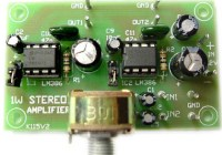 1W Stereo Audio Amplifier Kit