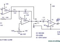 Multitone Alarm circuit electronic